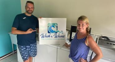 6. Wash & Waves Laundry